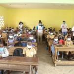 Classe della scuola Soghefia