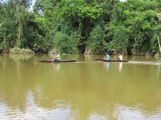 Salute per la pace in Amazzonia